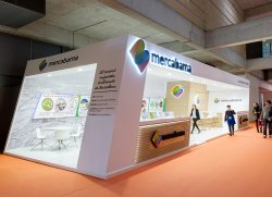 Mercabarna's stand in Alimentaria 2016