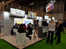 L'estand de Mercabarna a la fira Fruit Attraction