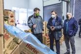 Visita del ministre d'agricultura, Luis Planas